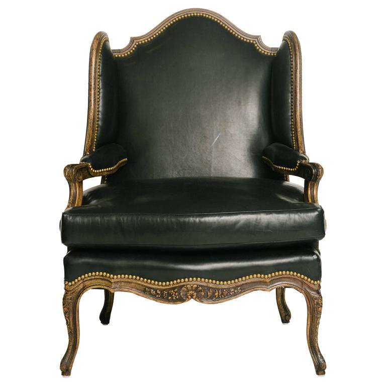 19th Century Louis XV Style En Confessional Chair