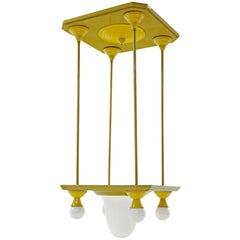 Ceiling Lamp, Vienna Art Nouveau, Austria, circa 1905