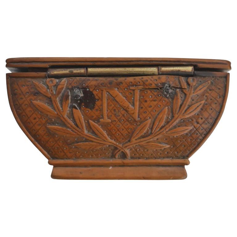 19th Century Napoleon's Coffin Snuffbox For Sale