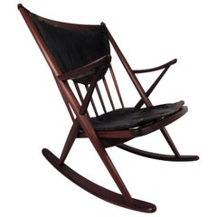 Danish Modern Rocking Chair