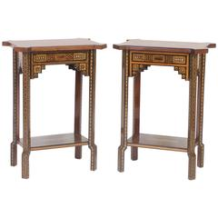 Impressive Pair of Syrian Tables