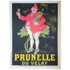 French Wine Advertising Poster by Henri Jarville