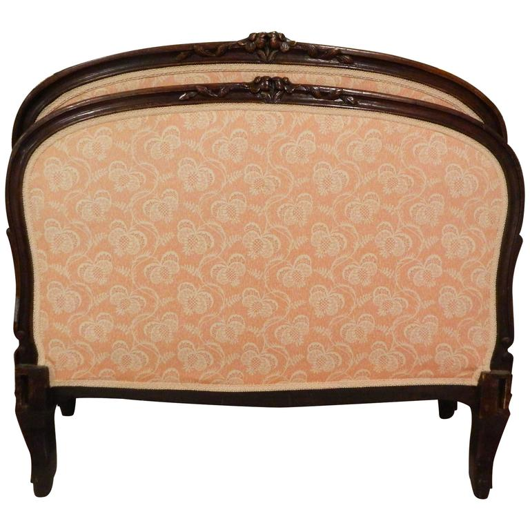 Louis XV Style French Upholstered Day Bed, 19th Century