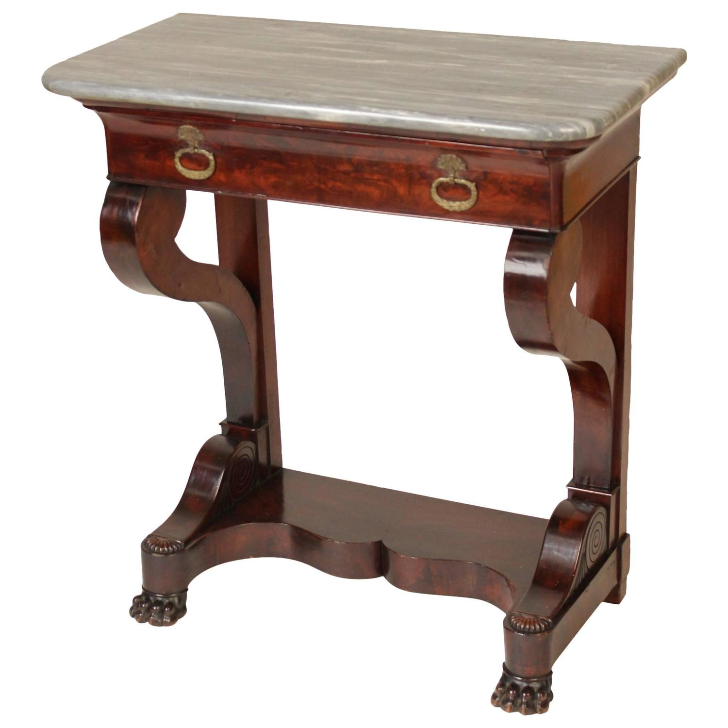 Louis philippe console table for sale at 1stdibs for Table louis philippe