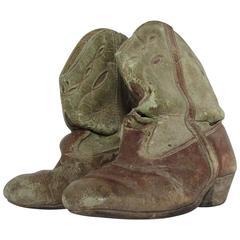 Antique Lil' Partner Cowboy Boots