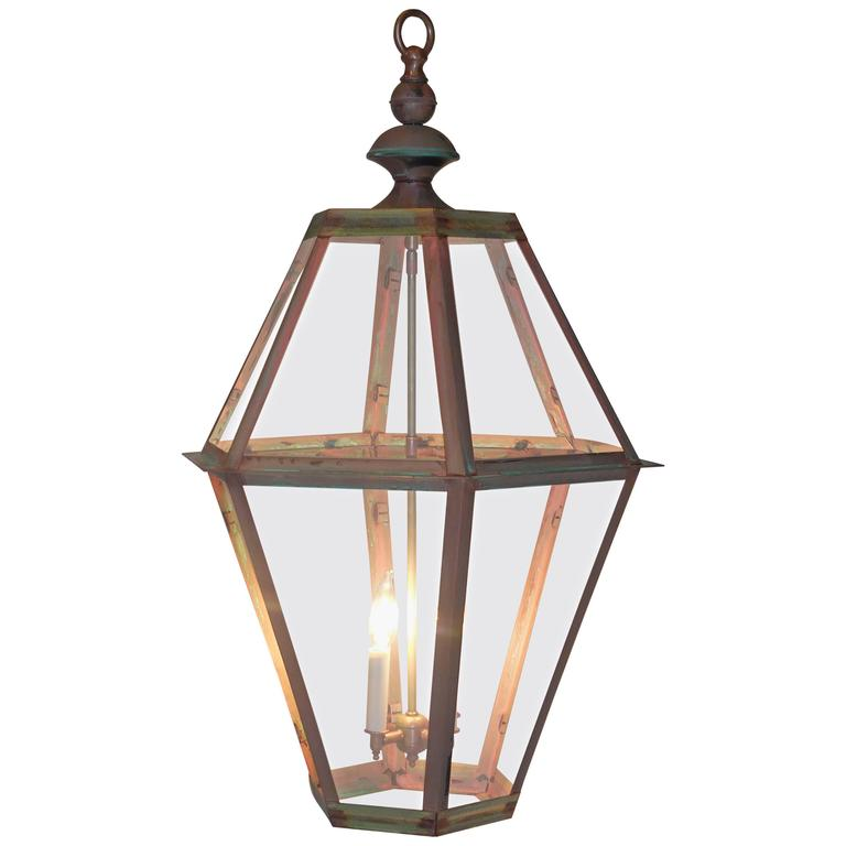 Large Copper Lantern