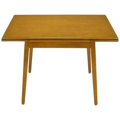 Jan Kuypers Birch Draw-Leaf Dining Table by Imperial of Canada