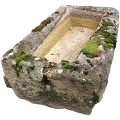 Antique French Stone Trough