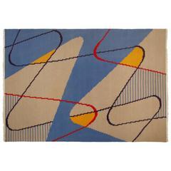 Antonin Kybal Modernist Carpet, circa 1950-1959