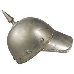 Late 19th Century Spiked Odd Fellows Helmet