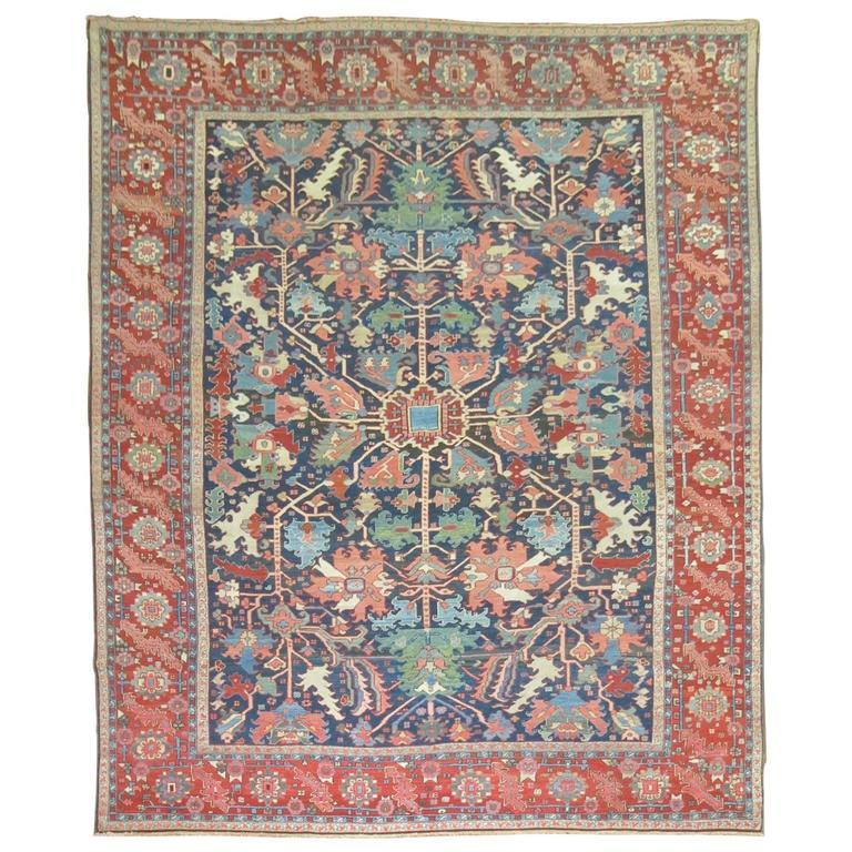 Classic Antique Persian Serapi Carpet For Sale At 1stdibs