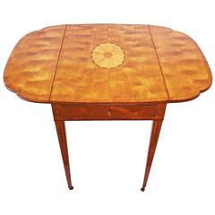Spectacular George III Sheraton Pembroke Table