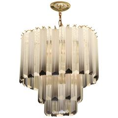 Mid-Century Camer Style Prism Chandelier