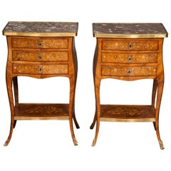 Pair of Louis XIV Style Side Tables
