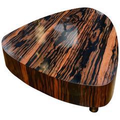 Elegant Ebony Low Table