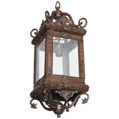 Late 19th Century English Bronze Lantern