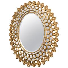 Superb European Oval Mirror