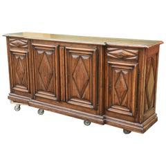 Late 20th Century Oak Server or Sideboard