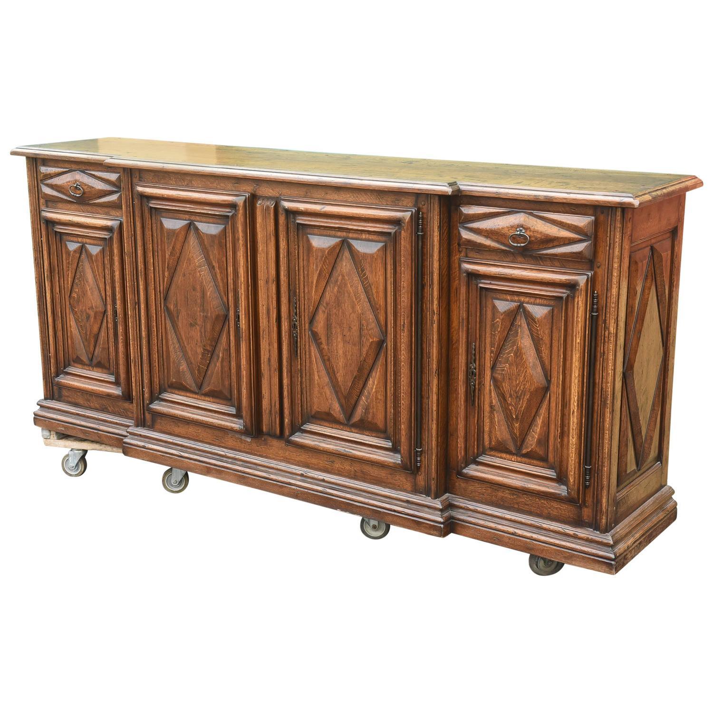 Oak Buffet Servers ~ Late th century oak server or sideboard at stdibs