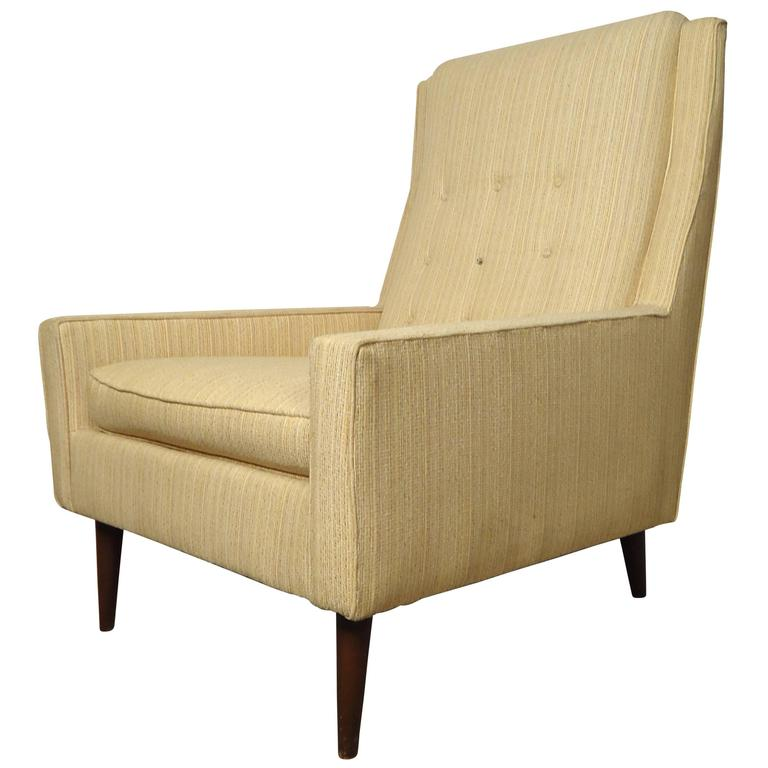 Mid Century Paul McCobb Style Lounge Chair For Sale at 1stdibs