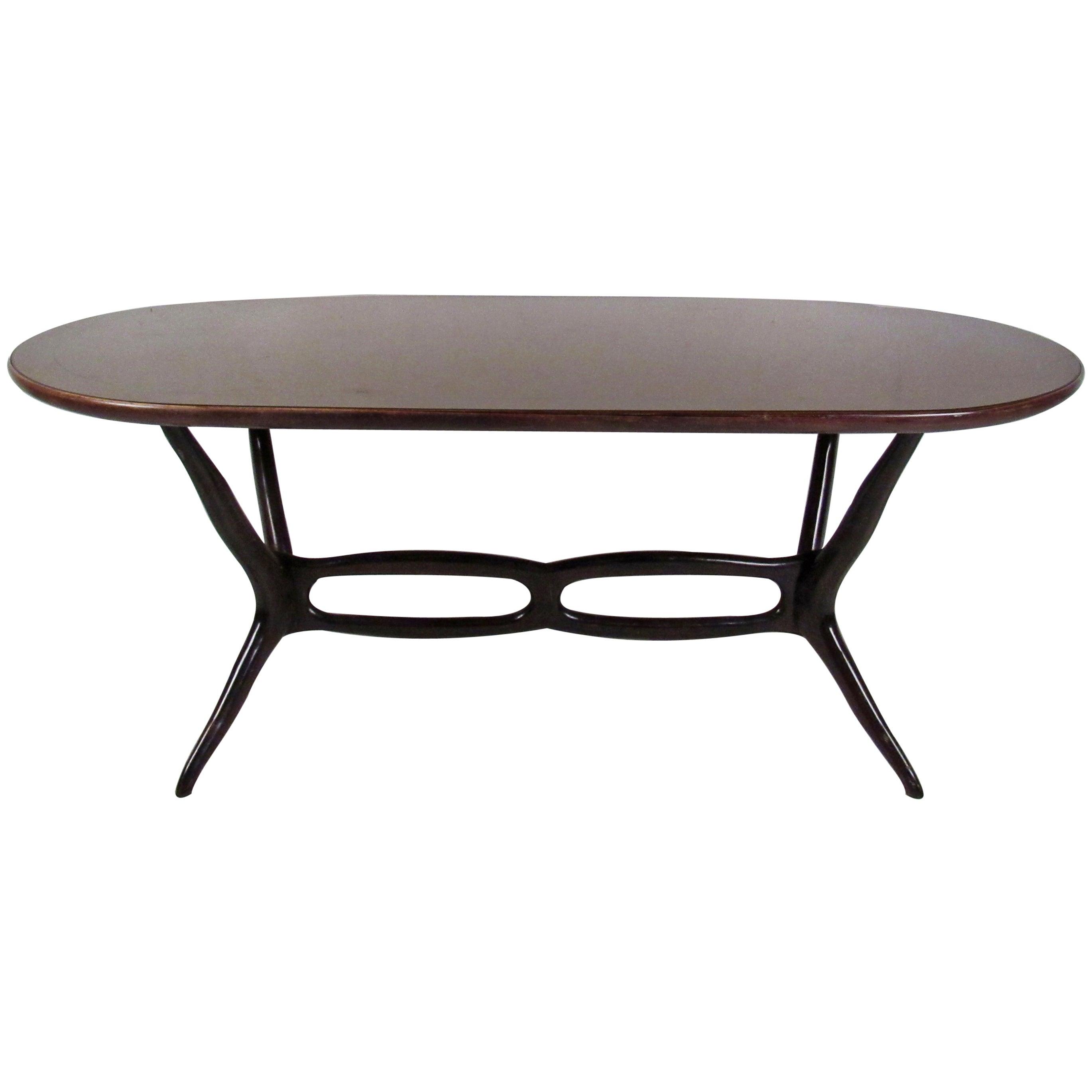 Italian Modern Rosewood Dining Table
