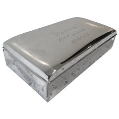 """Dynasty"" 100th Episode Silver Plated Table Box"