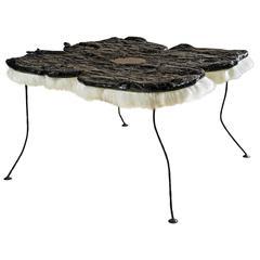 "Charly Bounan ""Warhol's Flower"" Table"
