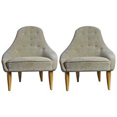 Pair of Armchairs by Kerstin Hörlin Holmquist, circa 1956