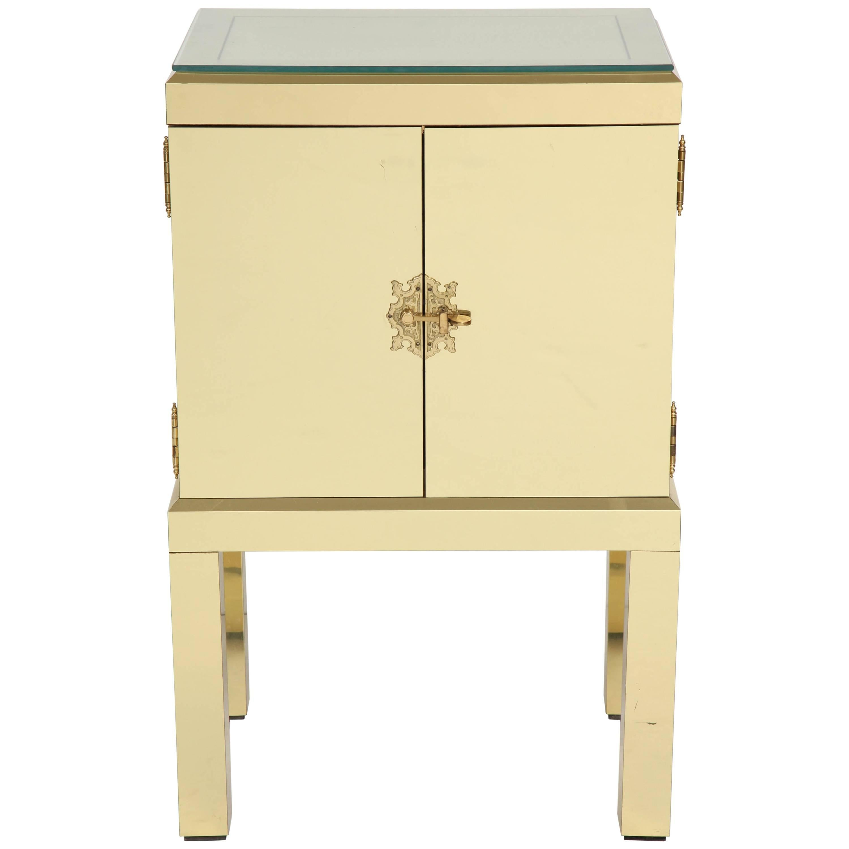 Brass Clad Cabinet