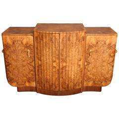 Art Deco Burr Walnut Cabinet Attributed to Harry and Lou Epstein