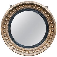 Regency Convex Mirror, England, circa 1805
