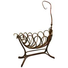1900 Thonet Austrian Art Nouveau Cradle