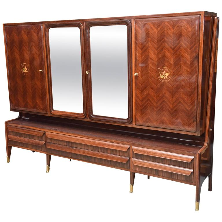rosewood mid century modern credenza style bar teak for sale chicago