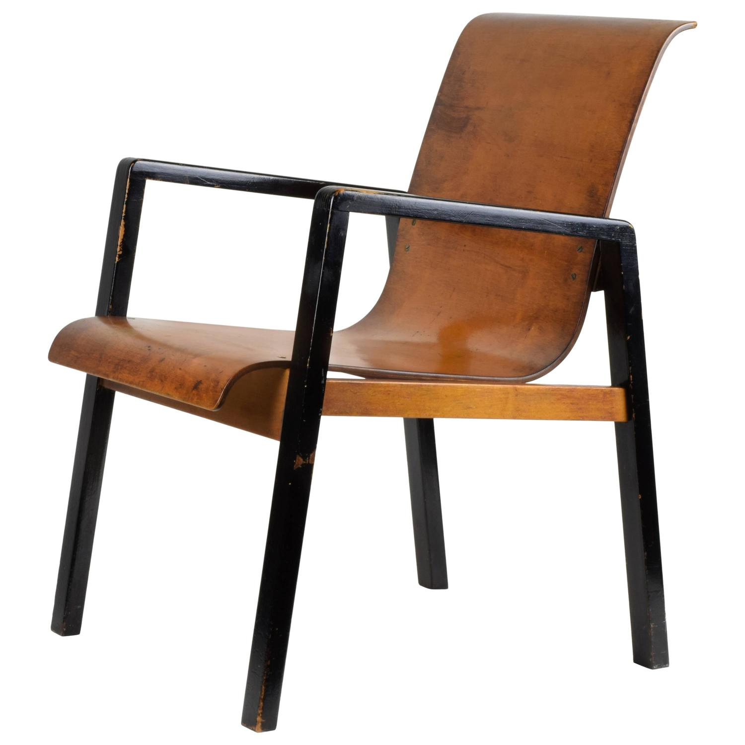 Alvar aalto armchair model 51 1932 at 1stdibs for Alvar aalto chaise