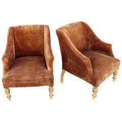 Bidermeier Attributed Pair of Chairs