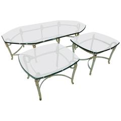 Set of Three Italy Coffee Tables