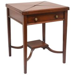 Folding Game or Side Table