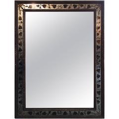 Large Vintage Jansen Églomisé Mirror