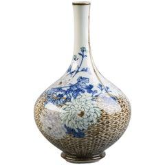 Japanese Porcelain Studio Vase, circa 1880