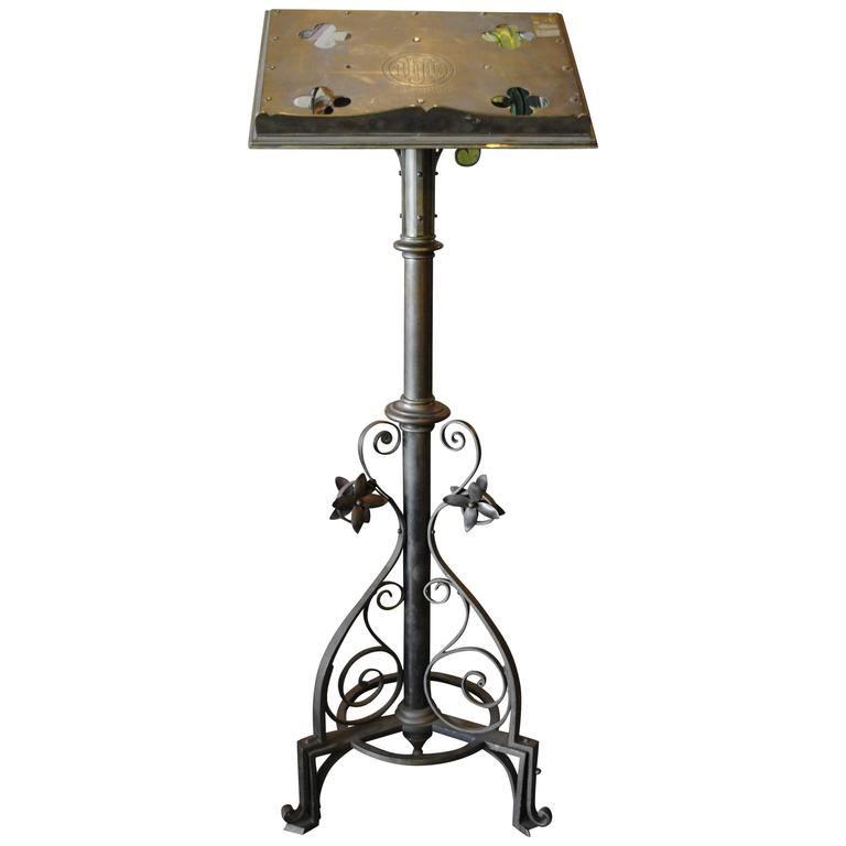 Jones and Willis Brass Religious Lectern or Music Stand at ...