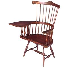 Large American Windsor Desk Chair