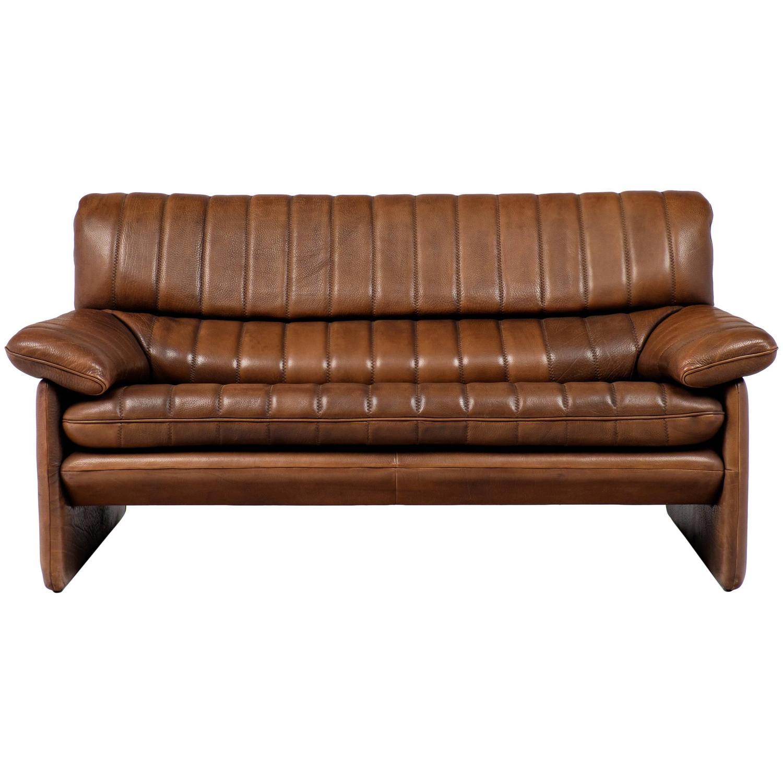 Soft Leather Sofa: Vintage De Sede DS-85 Soft Leather Sofa For Sale At 1stdibs