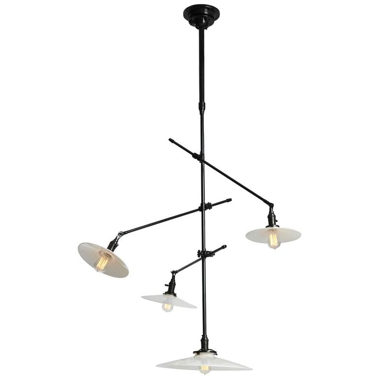 Articulating Ceiling Lamp by O.C. White