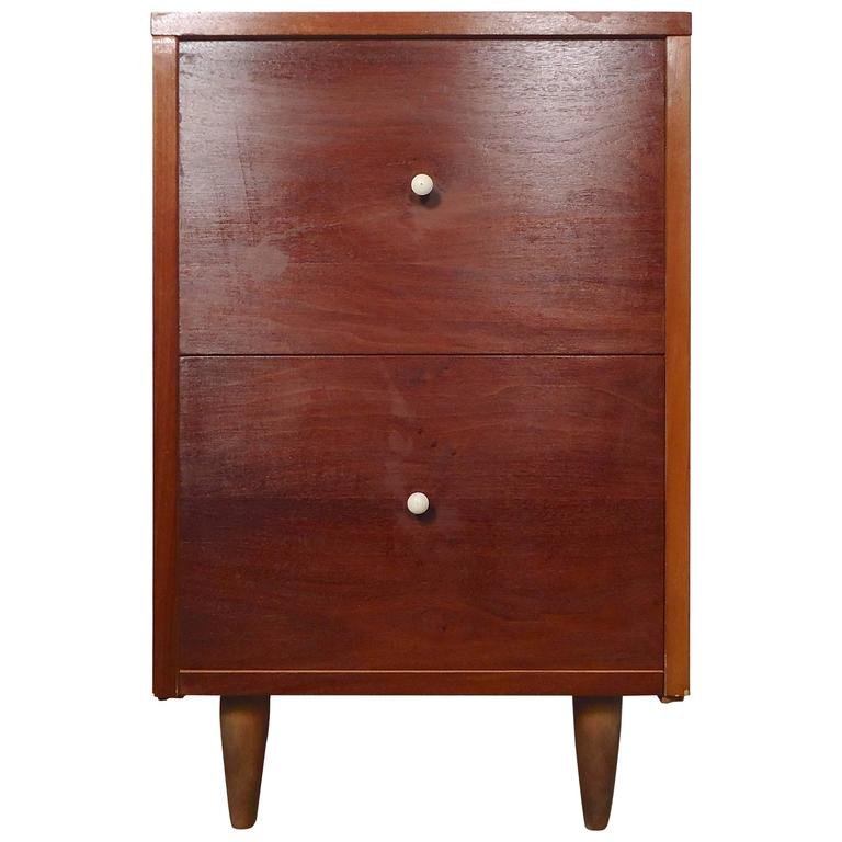 Petite Mid-Century Modern Side Cabinet
