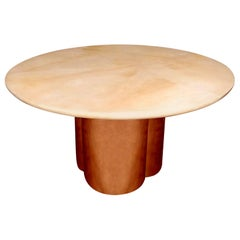 Great Parchment Dining or Center Table