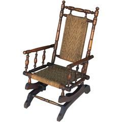 Child's Rocking Chair in the American Style