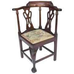 English Child's Corner Chair