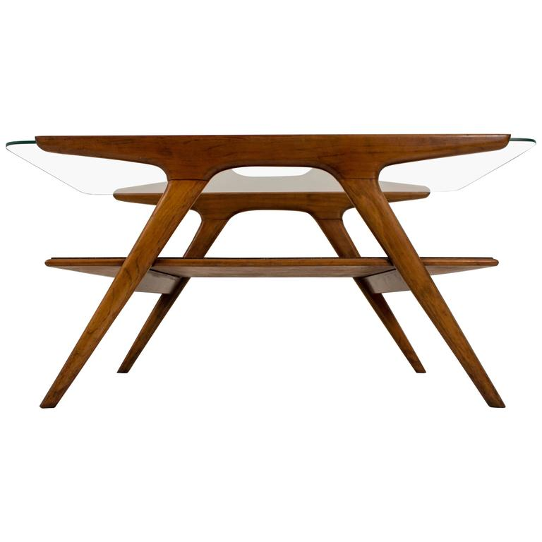 Funky Coffee Tables: Funky Mid-Century Modern Coffee Table By Cesare Lacca For