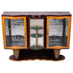 Extraordinary Italian Bar Cabinet by Pier Luigi Colli, 1940