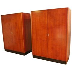 Two Large Wardrobe by Alfred Hendrickx for Belform Belgium, 1960s